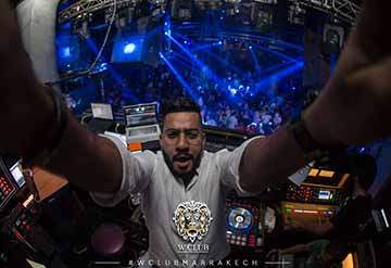 Dj w club marrakech